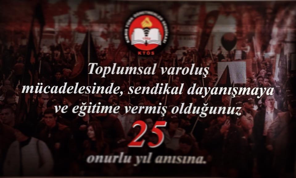 Dayanışma Gecesi 12 Mayıs Cuma gecesi Salamis Otel'de