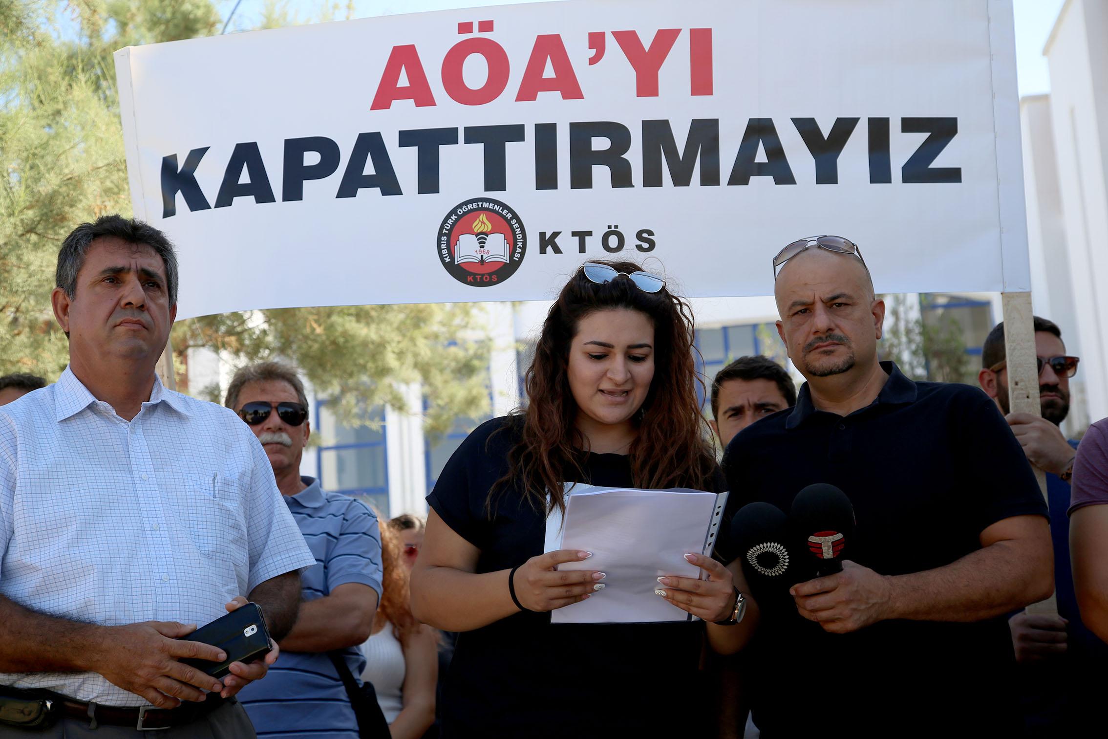 AÖA Öğrencileri: AÖA'yı kapatacak adımların karşısında olacağız!