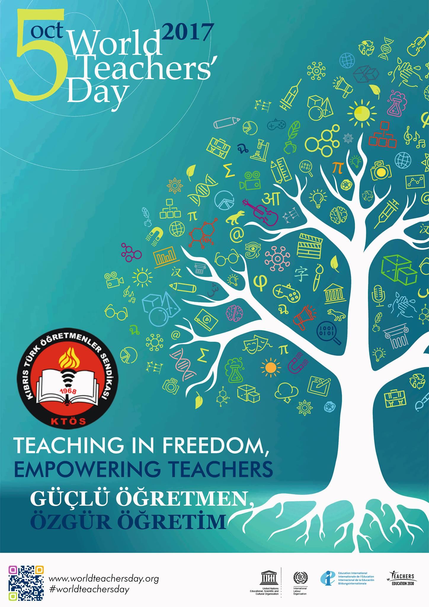 Dünya Öğretmenler Günü'nde Bölgelerde  Buluşuyoruz.