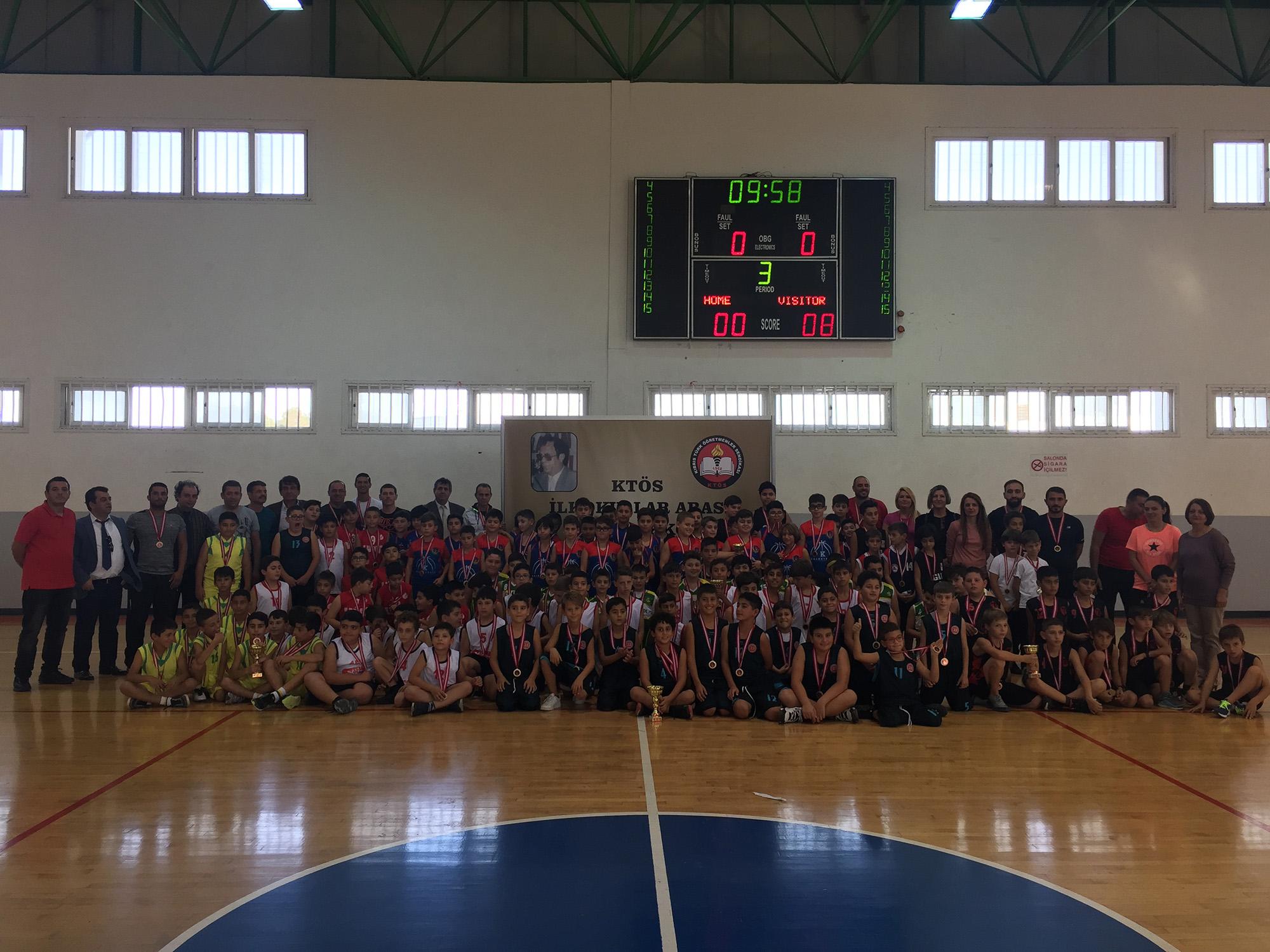 KTÖS İlkokullar Arası Talat Akkor Basketbol Şöleni gerçekleşti.
