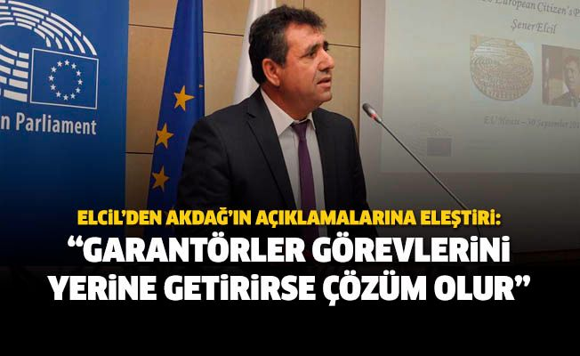 Türkiye, garantörlük görevi çerçevesinde sorumluluklarını yerine getirirse, Kıbrıs'ta çözüm olur.