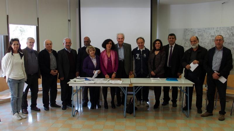 İki Toplumlu Barış İnisiyatifi, Cumhurbaşkanı Sn. Mustafa Akıncı'yı ziyaret etti