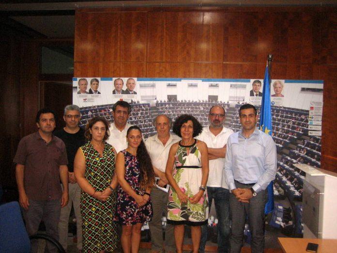 Avrupa Parlamentosu Kıbrıs Ofisi Başkanı Sn. Andreas Kettis ile görüşmemiz gerçekleşti