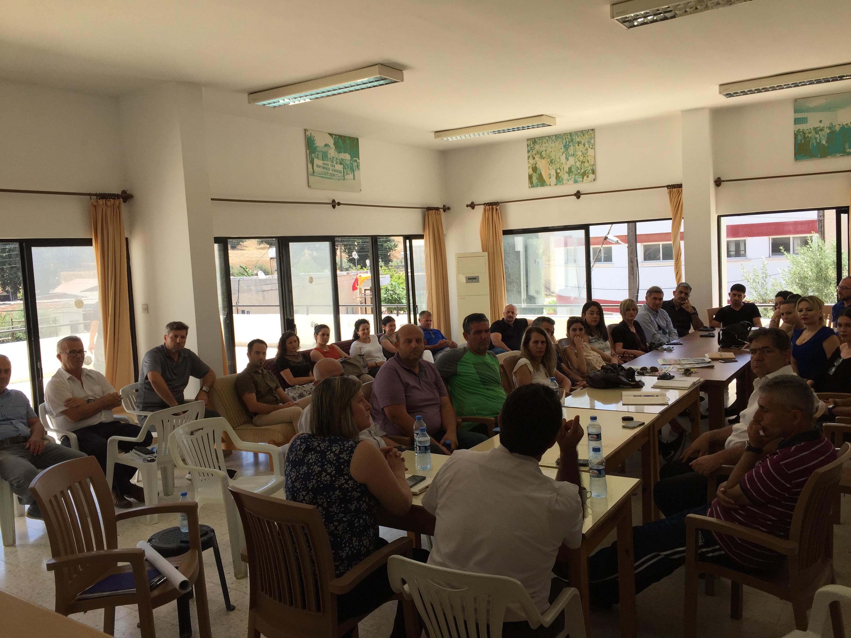 KTÖS,  kitle toplantıları düzenleyerek yeni eğitim-öğretim yılı için öneriler belirledi.
