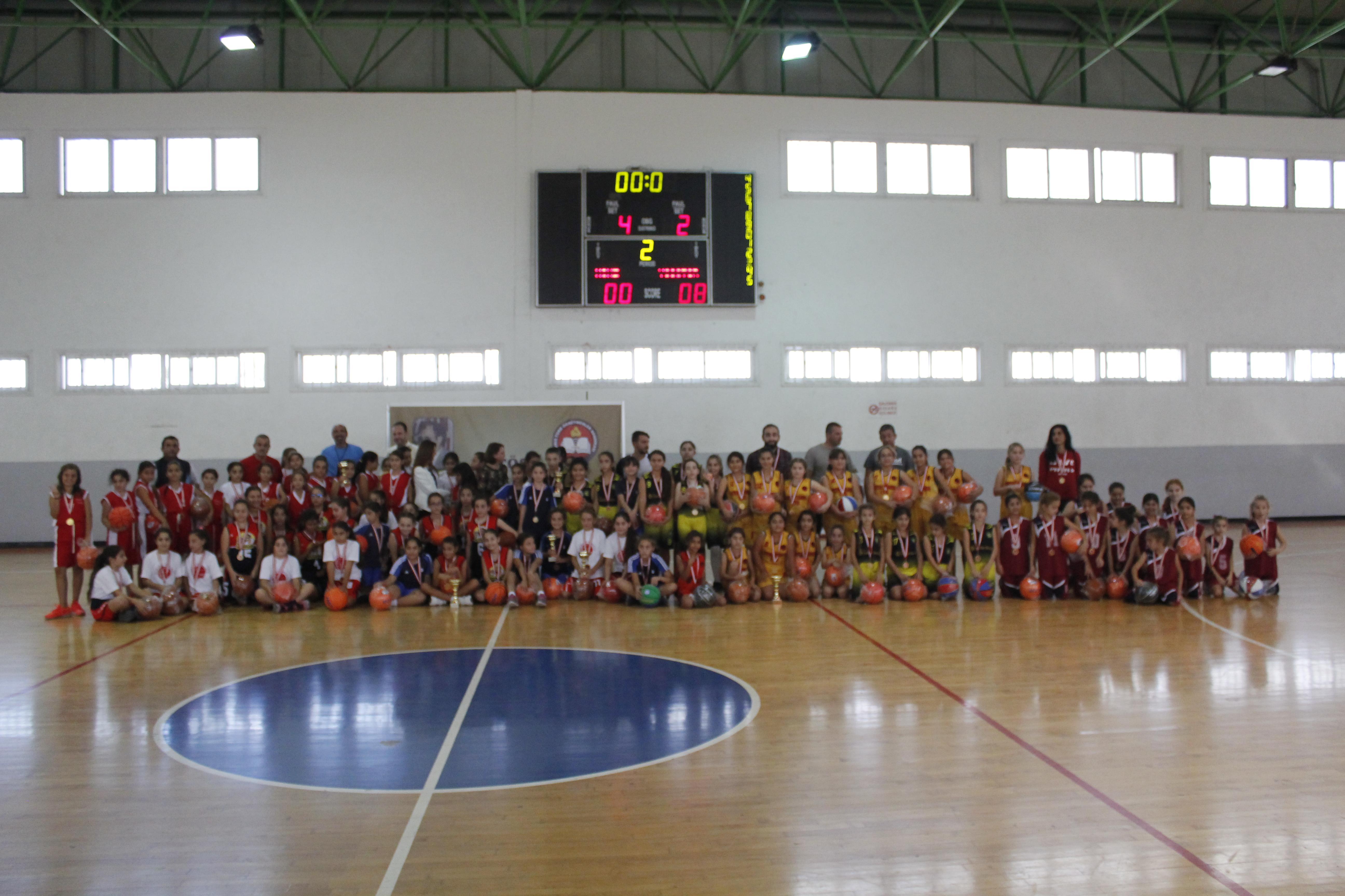 KTÖS İlkokullar Arası Talat Akkor Basketbol Şöleni