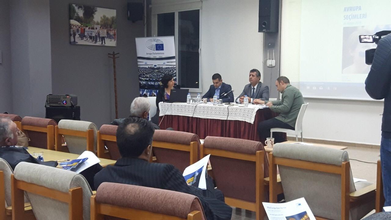 Avrupa Parlamento Seçimleri Bilgilendirme ToplantısıKTÖS'de gerçekleşti.