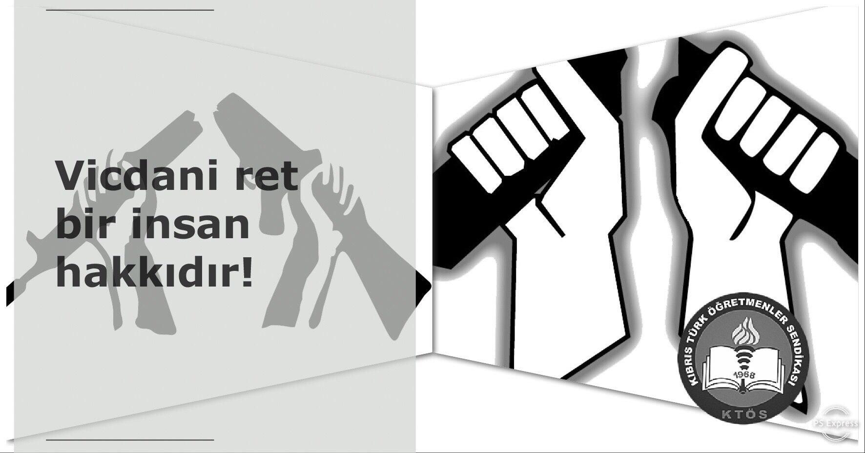 Vicdani ret bir insan hakkıdır!
