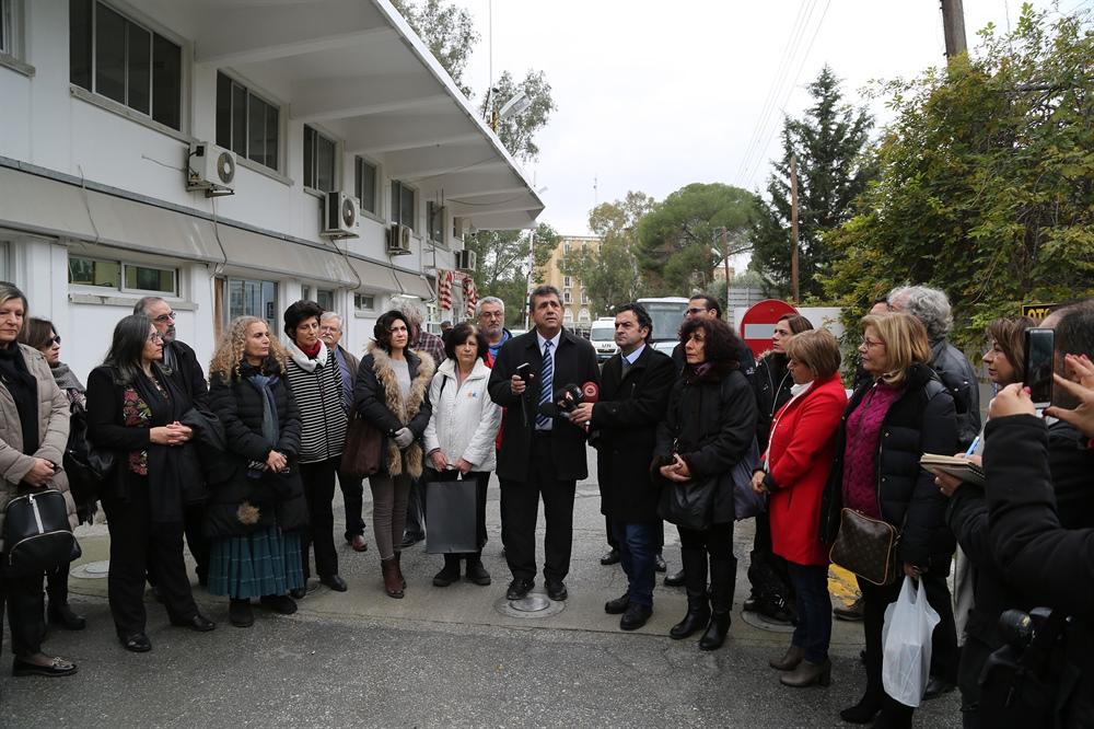 İki Toplumlu Öğretmenler Platformu okullarımızı ziyaret etti.