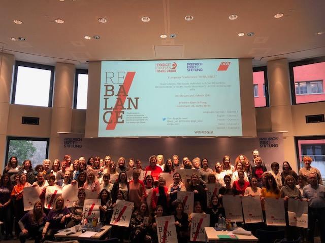 """KTÖS, ETUCE davetlisi olarak Berlin'de gerçekleşen """"REBALANCE"""" Proje Konferansına Katıldı"""