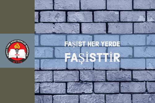 Faşizmin milliyeti yok, faşist her yerde faşisttir