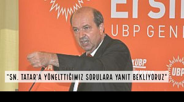 """KTÖS: """"Sn. Tatar'a yönelttiğimiz sorulara yanıt bekliyoruz"""""""