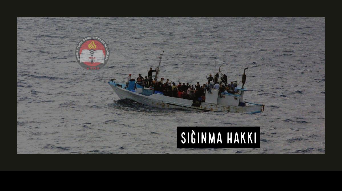 Mültecilerin Sığınma Hakkı Tanınmalıdır.