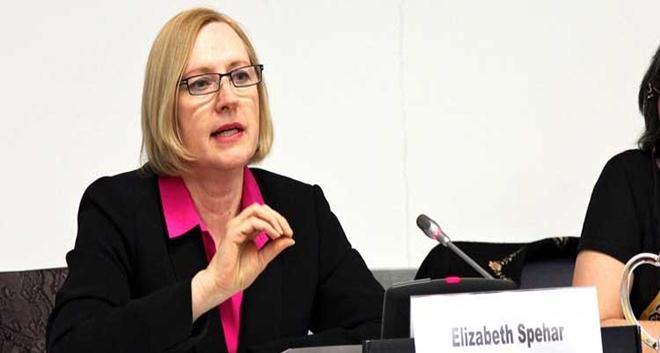 İki Toplumlu Barış İnisiyatifi Temsilcileri BM Genel Sekreteri Kıbrıs Özel Temsilcisi Elizabeth Spehar'ı Ziyaret Etti