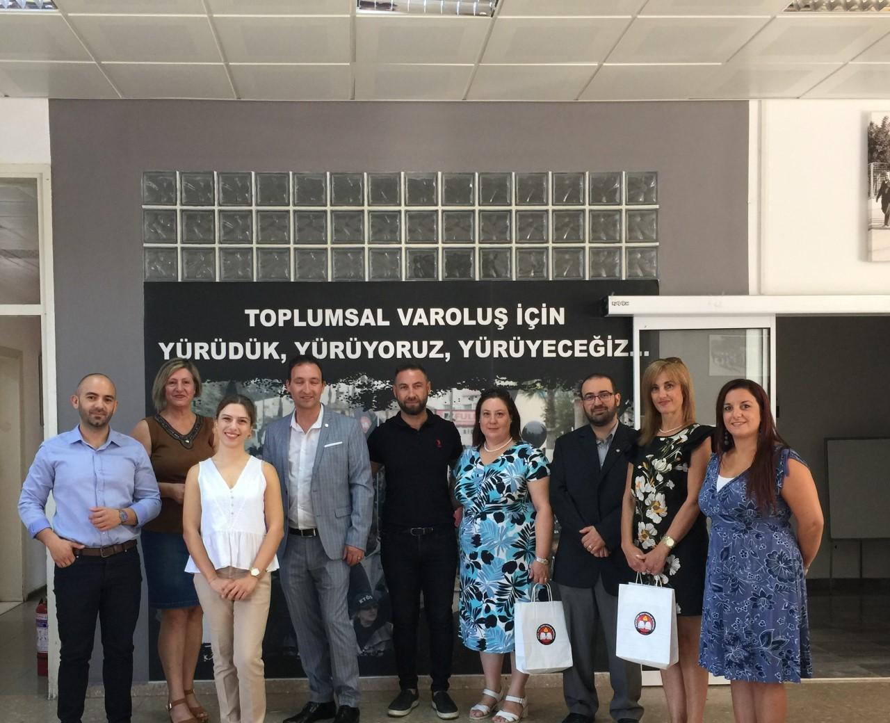 Malta Öğretmen Sendikası (MUT) temsilcileri KTÖS'ün davetlisi olarak Kıbrıs'a geldi.