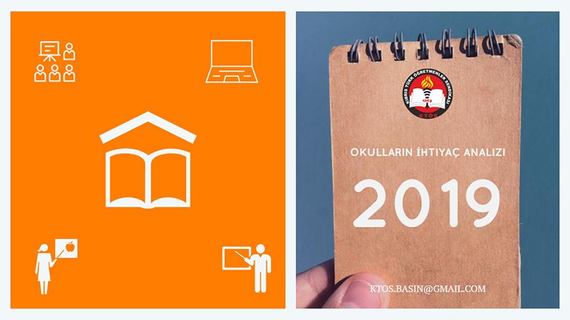 Okul İhtiyaçlarını 31 Mayıs'a kadar KTÖS'e bildiriniz.