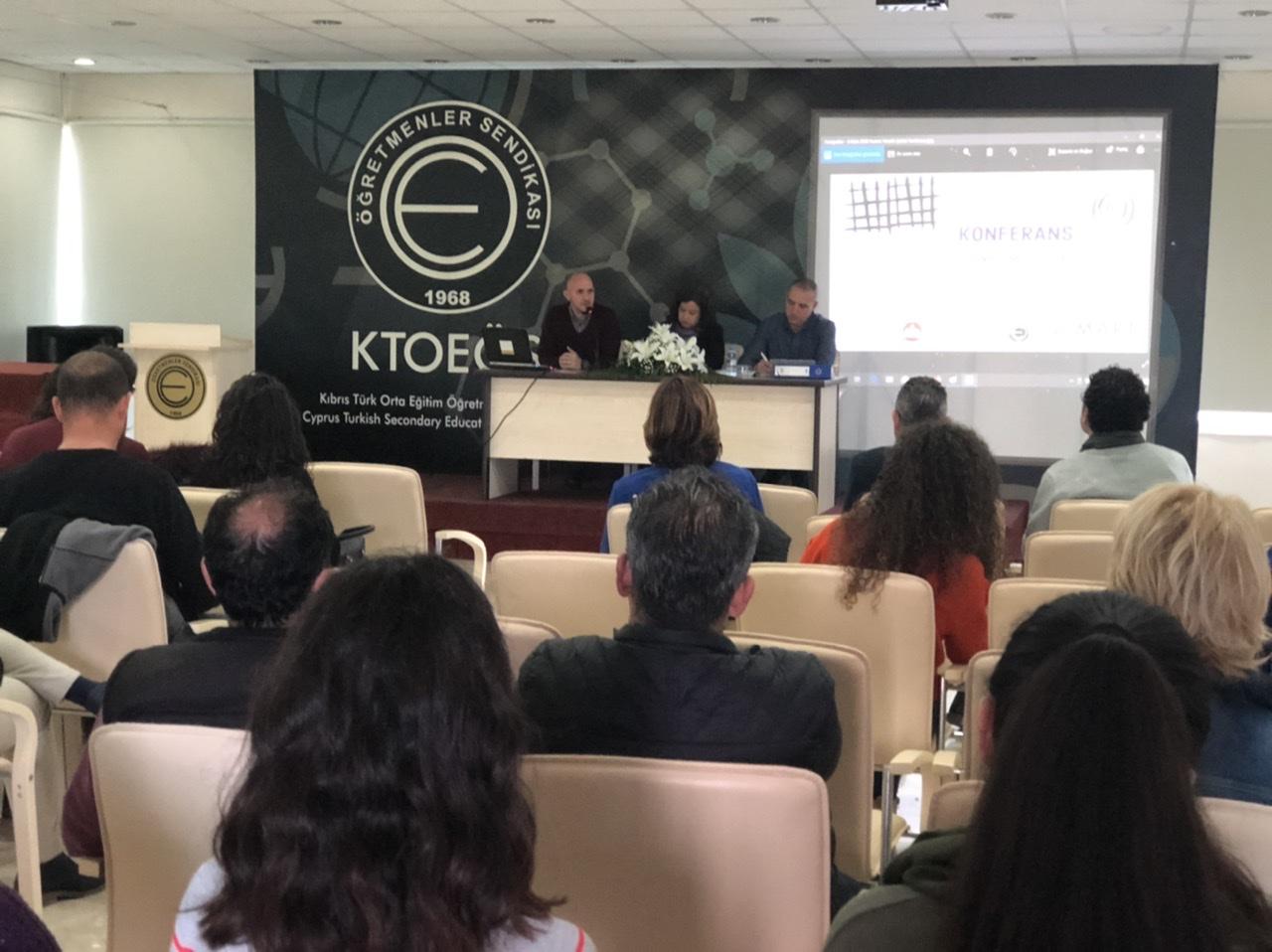 """""""Kadına Yönelik Şiddet ve Ev İçi Şiddetin Önlenmesi"""" konulu konferans gerçekleşti"""
