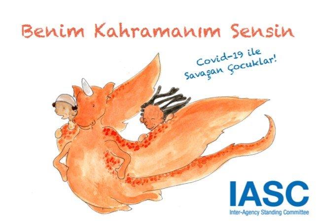 DSÖ (WHO) çocukların koronavirüs salgınını anlayabilmesi için hikaye kitabı hazırladı