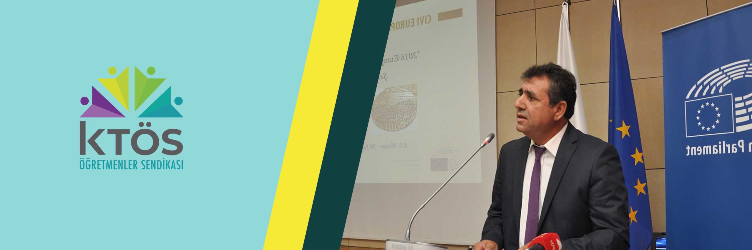 Sn. Tatar'ın izlediği siyaset Kıbrıslı Türkler'i Avrupa Birliği'nden koparmaya yöneliktir