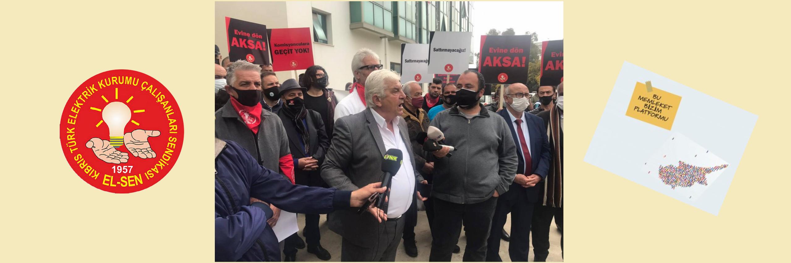 BMBP, EL-SEN'in grev ve eylemine destek verdi