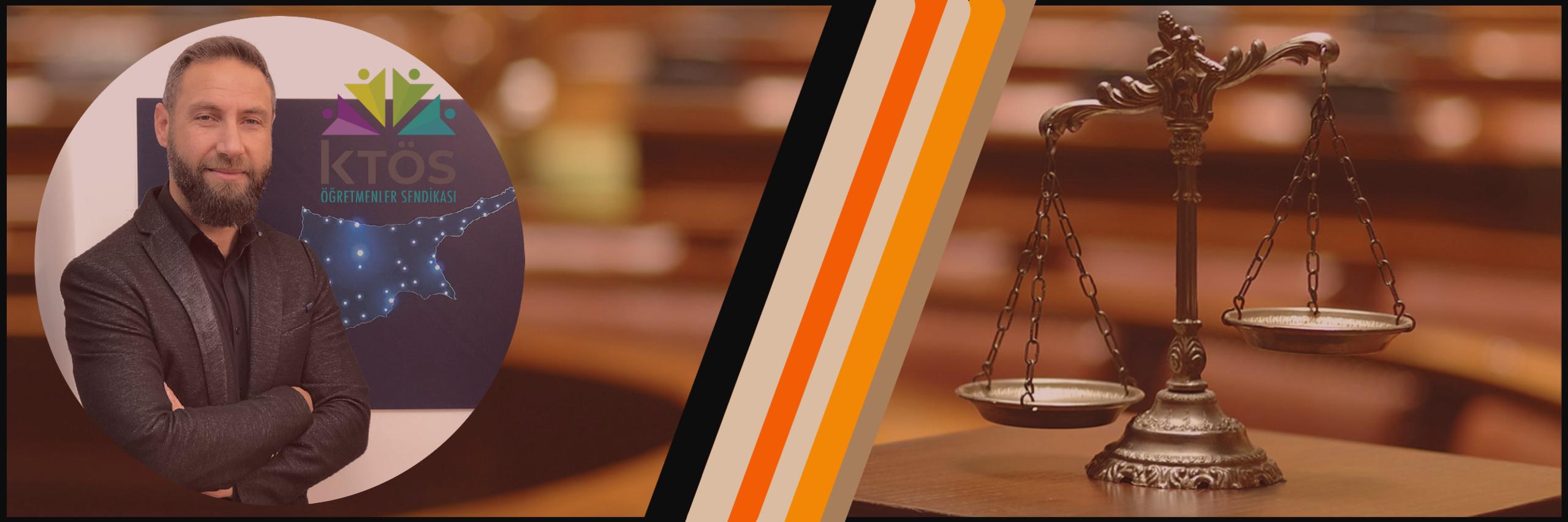 KTÖS: Yargı bağımsızlığına sahip çıkıyoruz!